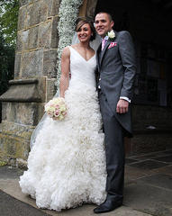 Jessica Ennis ties the knot with long-term boyfriend Andy Hill