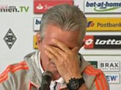 jupp heynckes bursts into tears as bayern munich coach says goodbye to bundesliga