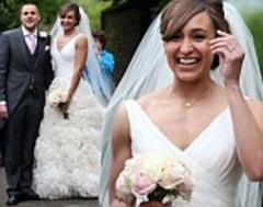 Jessica Ennis marries her childhood sweetheart Andy Hill