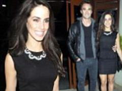 Thom Evans and Jessica Lowndes step out on yet ANOTHER date night... as they hit two bashes in one evening