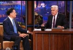 Romney Blasts Obama, Tells Leno: 'Not A Fan Of The President', Blames Obama For IRS Targeting