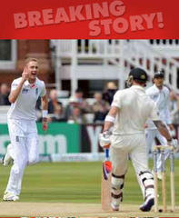 England make early breakthroughs