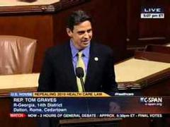 Graves: Obamacare Vote Shows Where House Stands on IRS Scandal
