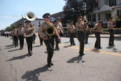 Newton's Memorial Day Parade Marching Through Town Sunday