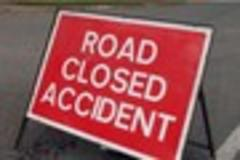 Bodmin road closed and two injured after two car collision