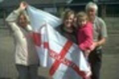 protest over decision not to buy st george's flag in radstock