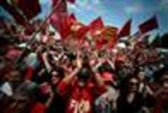 Thousands rally in Italy to oppose austerity measures