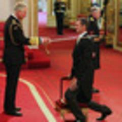 mark todd knighted at buckingham palace